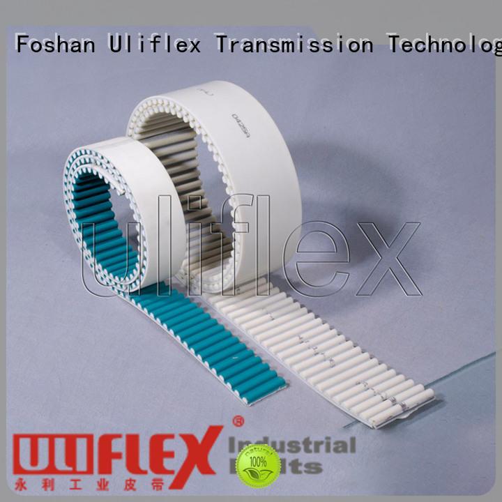 Uliflex polyurethane belts producer for importer