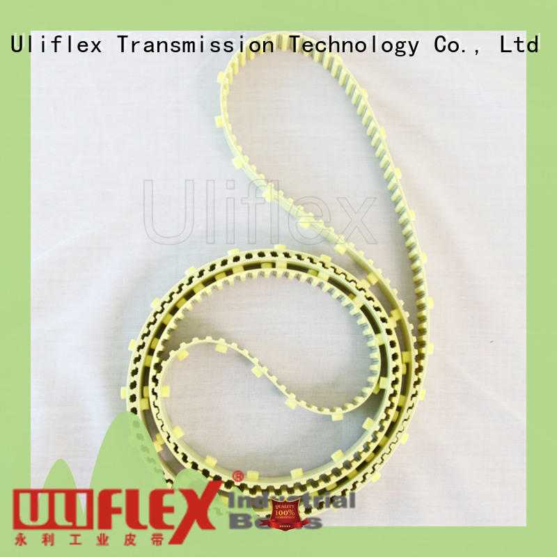 Uliflex 100% quality textile machine timing belt for marketer