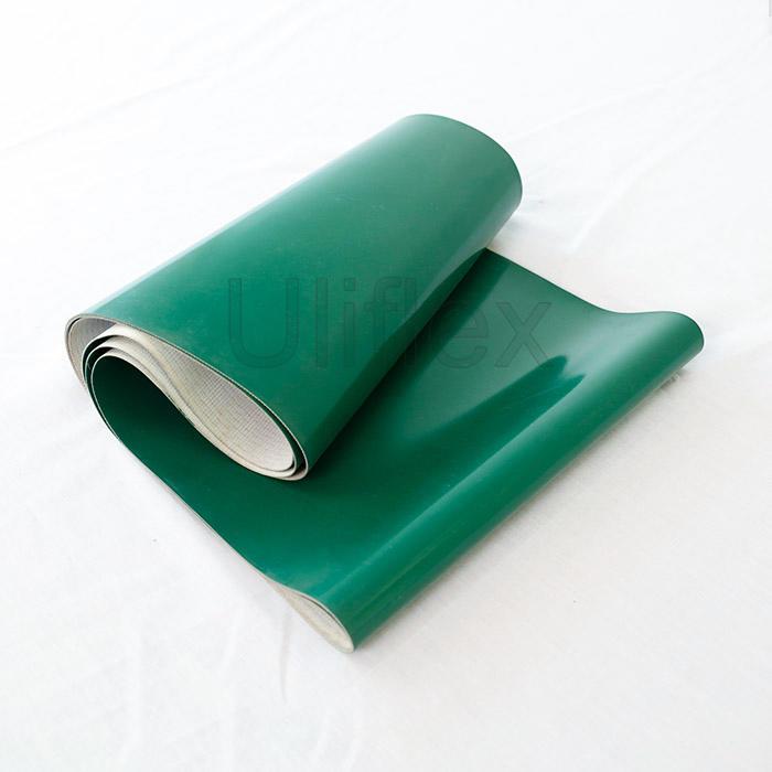 PVC Belt Conveyor, Industrial Waste Sorting Belt Conveyor, for Electronic/Package Factory/Distributor