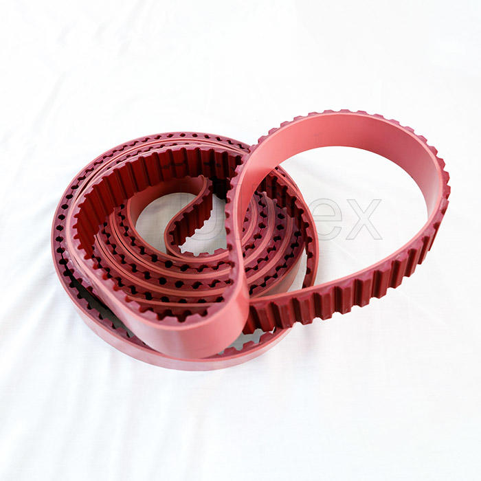 Polyurethane  PU Truly Endless timing belt with Steel cord or Kevlar cord, with APL coating or rubber coating