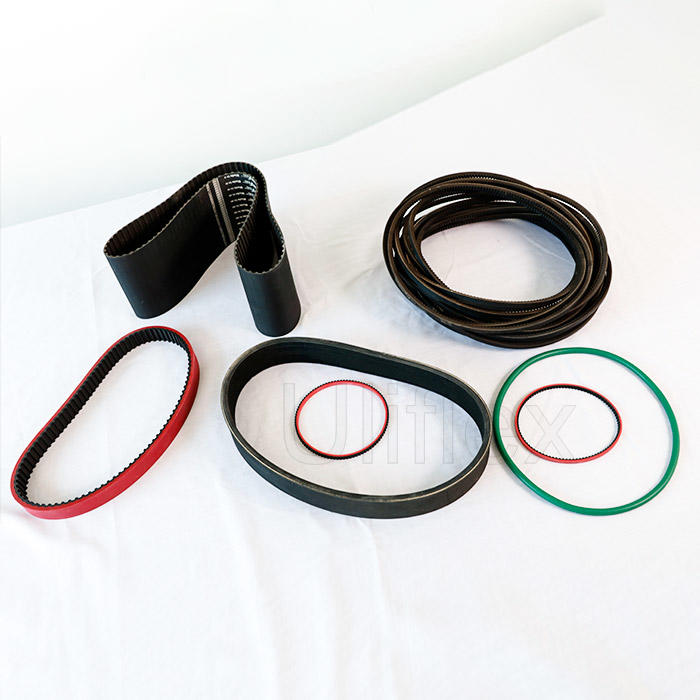 Rubber timing belt-- industrial T-teeth timing belt&Curvilinear teeth timing belt
