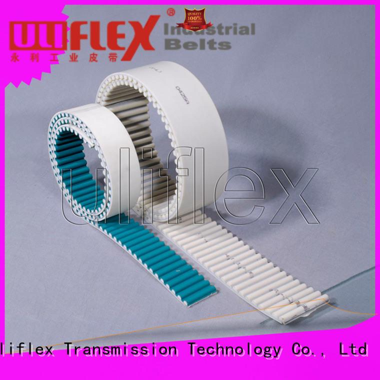Uliflex polyurethane belts producer for safely moving
