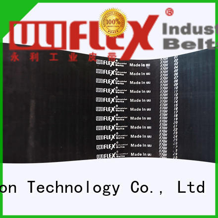 Uliflex hot sale timing belt factory for safely moving
