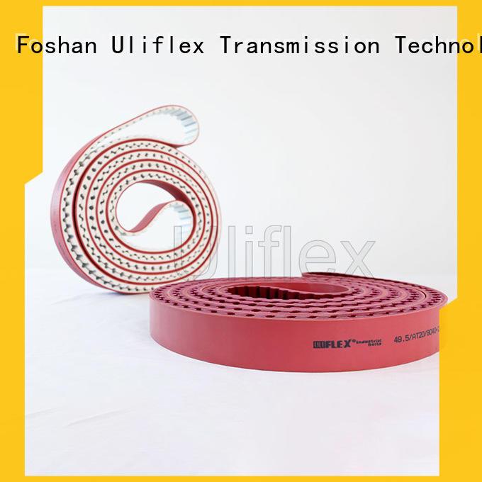 Uliflex rubber belt factory for importer