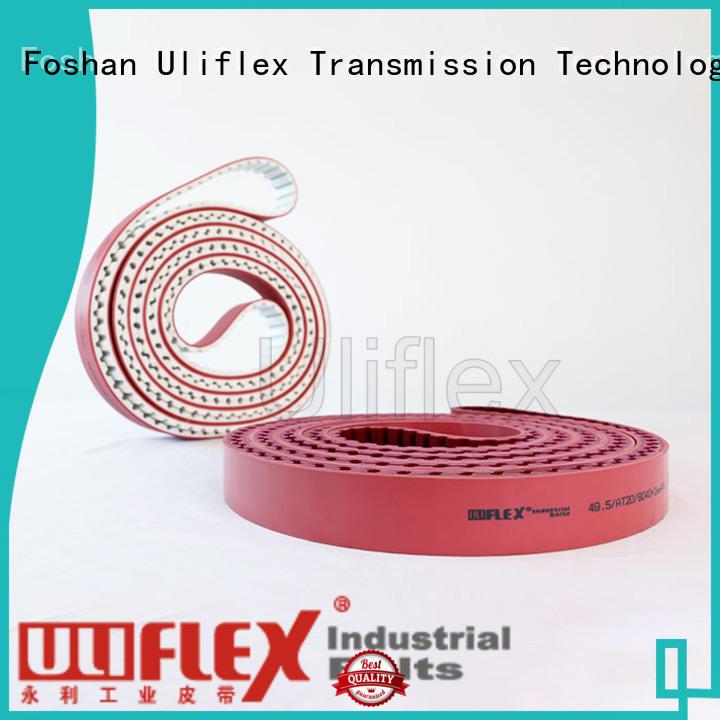 Uliflex hot sale polyurethane belt factory for safely moving