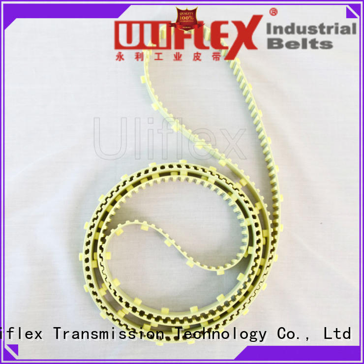 Uliflex toothed belt producer for safely moving