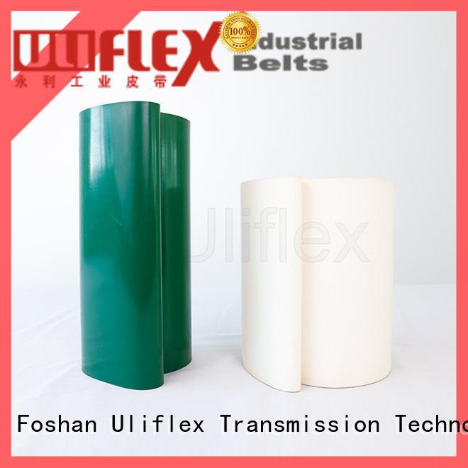 Uliflex new pvc belt supplier for machine