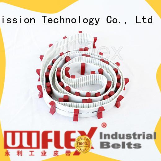 Uliflex custom pu belt factory for industry