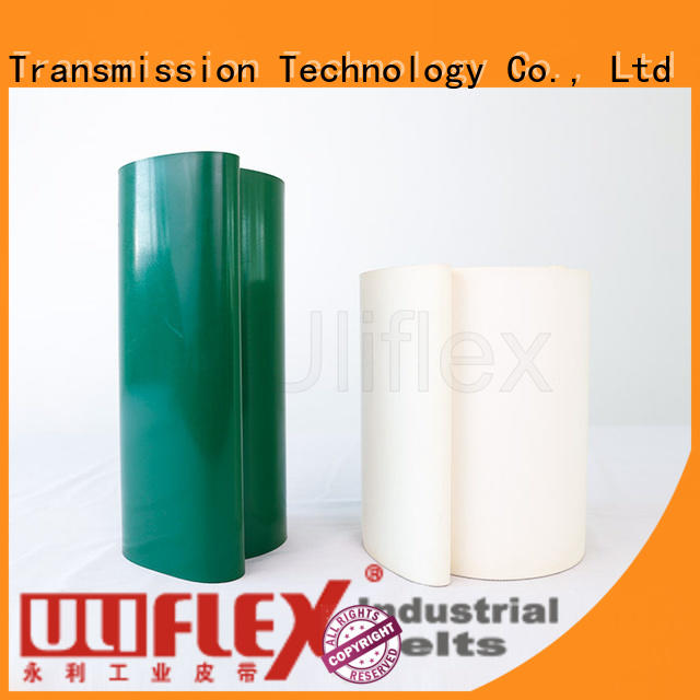 Uliflex hot sale pvc belt supplier for machine