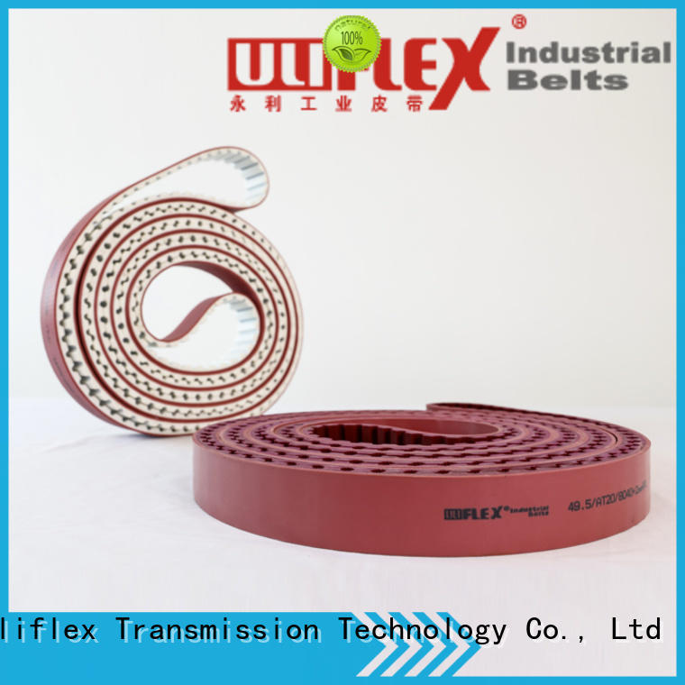 Uliflex synchronous belt factory for engine running
