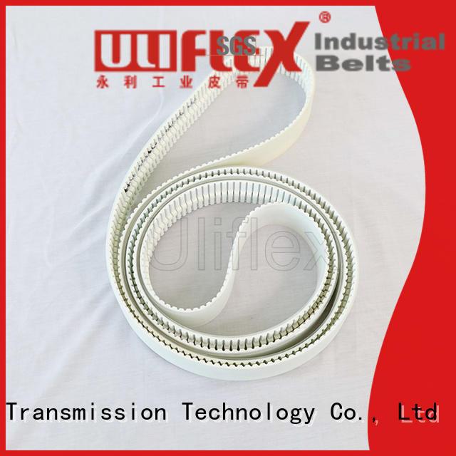 Uliflex oem odm polyurethane belt factory for safely moving