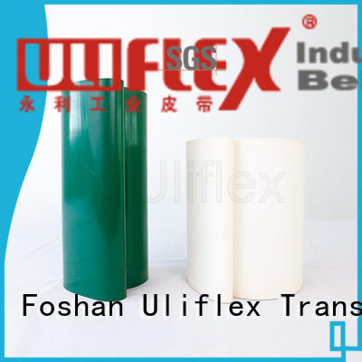 Uliflex pvc belt manufacturer for machine