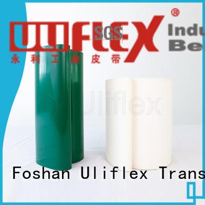 Uliflex pvc belt manufacturer for machine