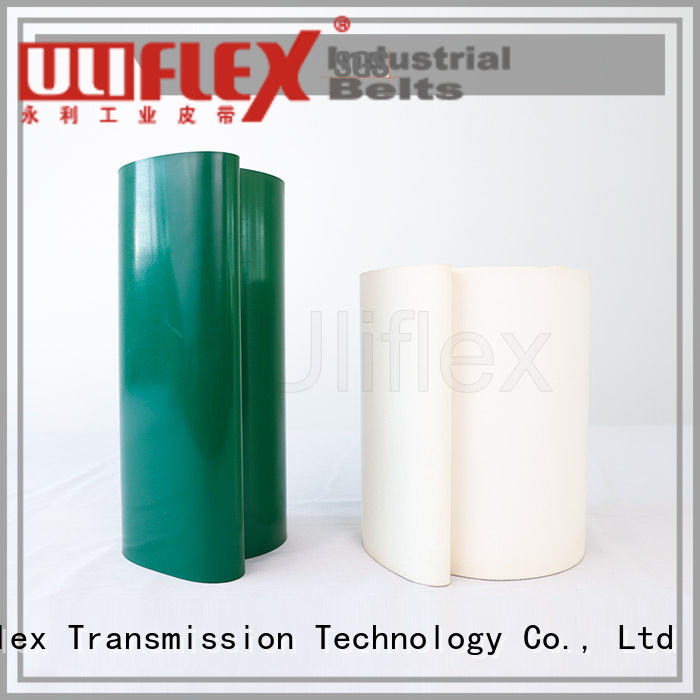 Uliflex pvc belt factory for machine