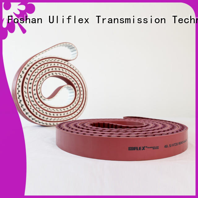 Uliflex China toothed belt overseas trader for safely moving