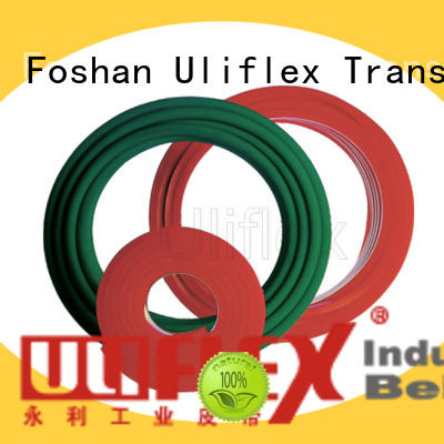 Uliflex 100% quality tpu belt overseas market for safely moving
