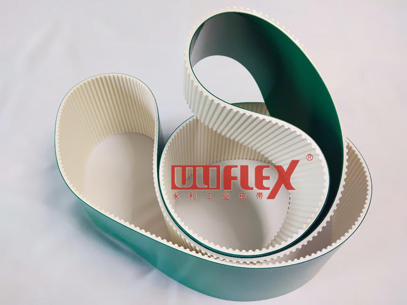 Belt with silicone