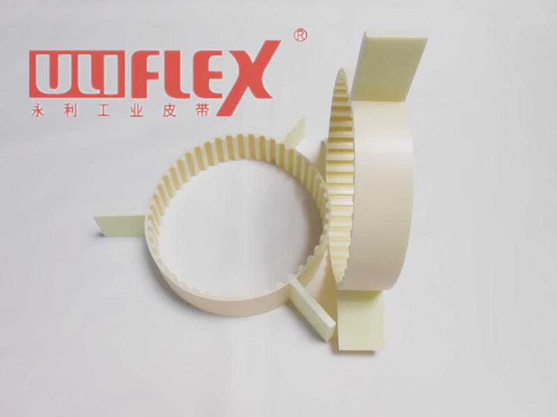 Pu timing belt +cleats (made in one mould)