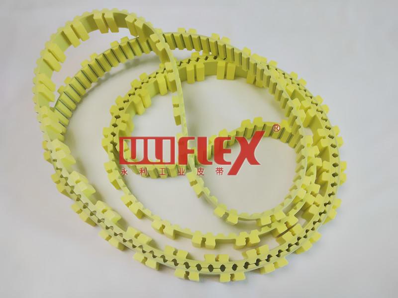 Rieter C70 Carding Flat Top Belt for Textile Industry Textile machine belt 25AT10-3650+99 cleats